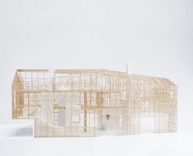 Mines Park, Cambridgeshire by 6a Architects, Model