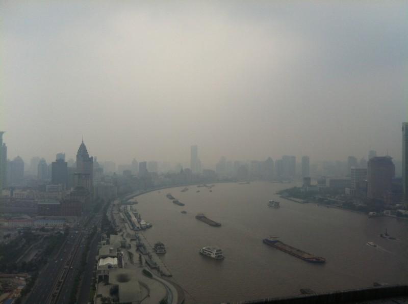 Huangpu River view, Shanghai